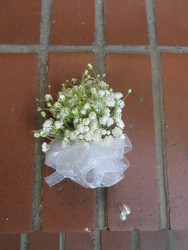 Baby's Breath Corsage from Carter's Flower Shop in Farmville, VA