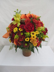 Festive Fall from Carter's Flower Shop in Farmville, VA