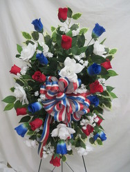 All American from Carter's Flower Shop in Farmville, VA