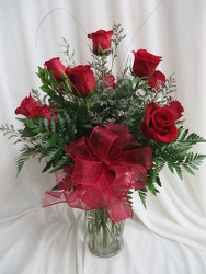 Dozen Red Roses from Carter's Flower Shop in Farmville, VA
