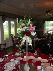 Table Centerpiece Tower from Carter's Flower Shop in Farmville, VA