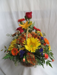 Basket of Fall from Carter's Flower Shop in Farmville, VA