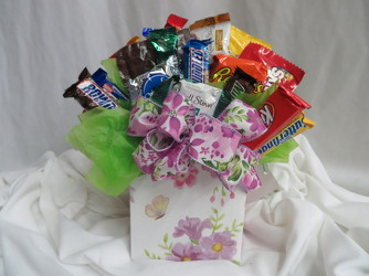 Candy Bouquet from Carter's Flower Shop in Farmville, VA