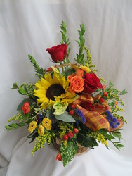 Autumn Harvest from Carter's Flower Shop in Farmville, VA