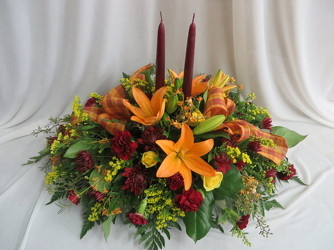 Autumn Splendor from Carter's Flower Shop in Farmville, VA