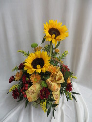 Sunflower Basket from Carter's Flower Shop in Farmville, VA