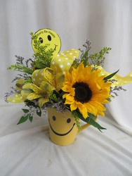 Sunny Smiles from Carter's Flower Shop in Farmville, VA