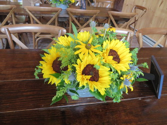Table Centerpiece J2 from Carter's Flower Shop in Farmville, VA