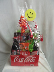 Have a Coke and a Smile  from Carter's Flower Shop in Farmville, VA