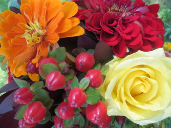 Fall Designers Choice from Carter's Flower Shop in Farmville, VA