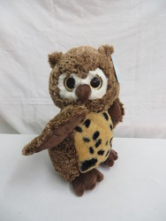 Plush Owl from Carter's Flower Shop in Farmville, VA