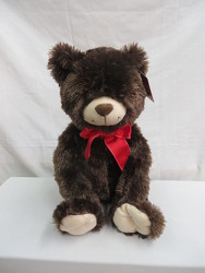 Brown Plush Bear from Carter's Flower Shop in Farmville, VA