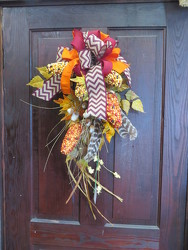 Fall Swag 3 from Carter's Flower Shop in Farmville, VA