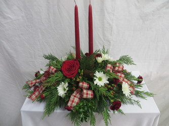 Old Fashioned Christmas from Carter's Flower Shop in Farmville, VA