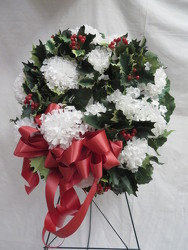 Wreath 2 from Carter's Flower Shop in Farmville, VA