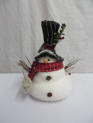 Snowman 5 from Carter's Flower Shop in Farmville, VA