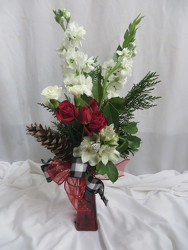 Holiday Simplicity from Carter's Flower Shop in Farmville, VA