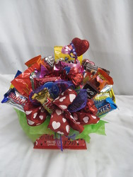 Candy Bouquet Valentines from Carter's Flower Shop in Farmville, VA