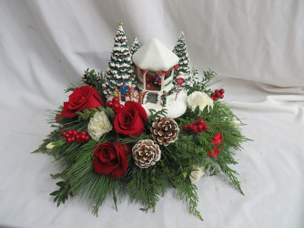Thomas Kincaid Christmas from Carter's Flower Shop in Farmville, VA