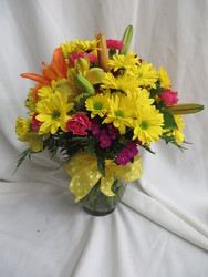 Smiles and Sunshine from Carter's Flower Shop in Farmville, VA