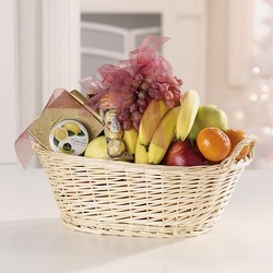 Fruit and Gourmet Basket from Carter's Flower Shop in Farmville, VA